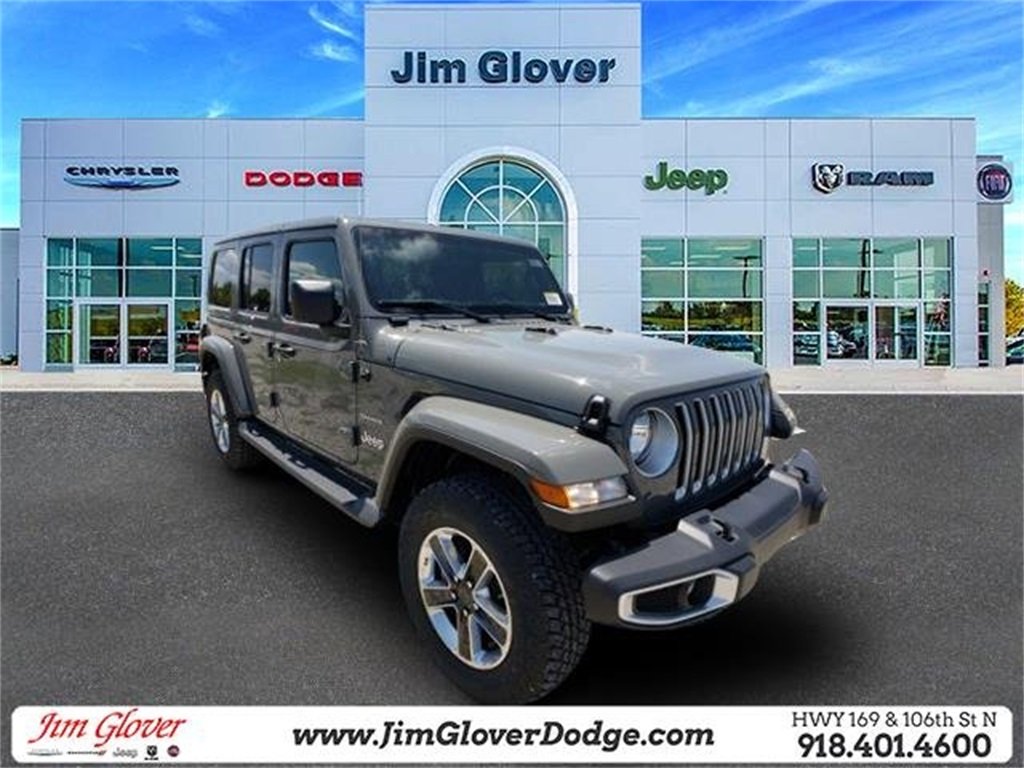 New 2019 Jeep Wrangler Unlimited Sahara 4WD 4D Sport Utility